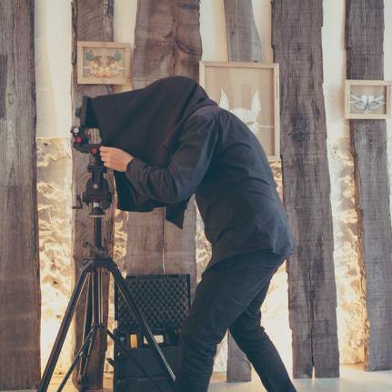 shooting à la galerie Ninn Apouladaki